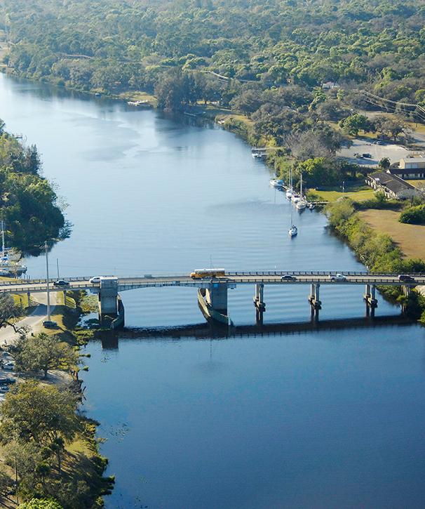 LaBelle bridge aerial 2