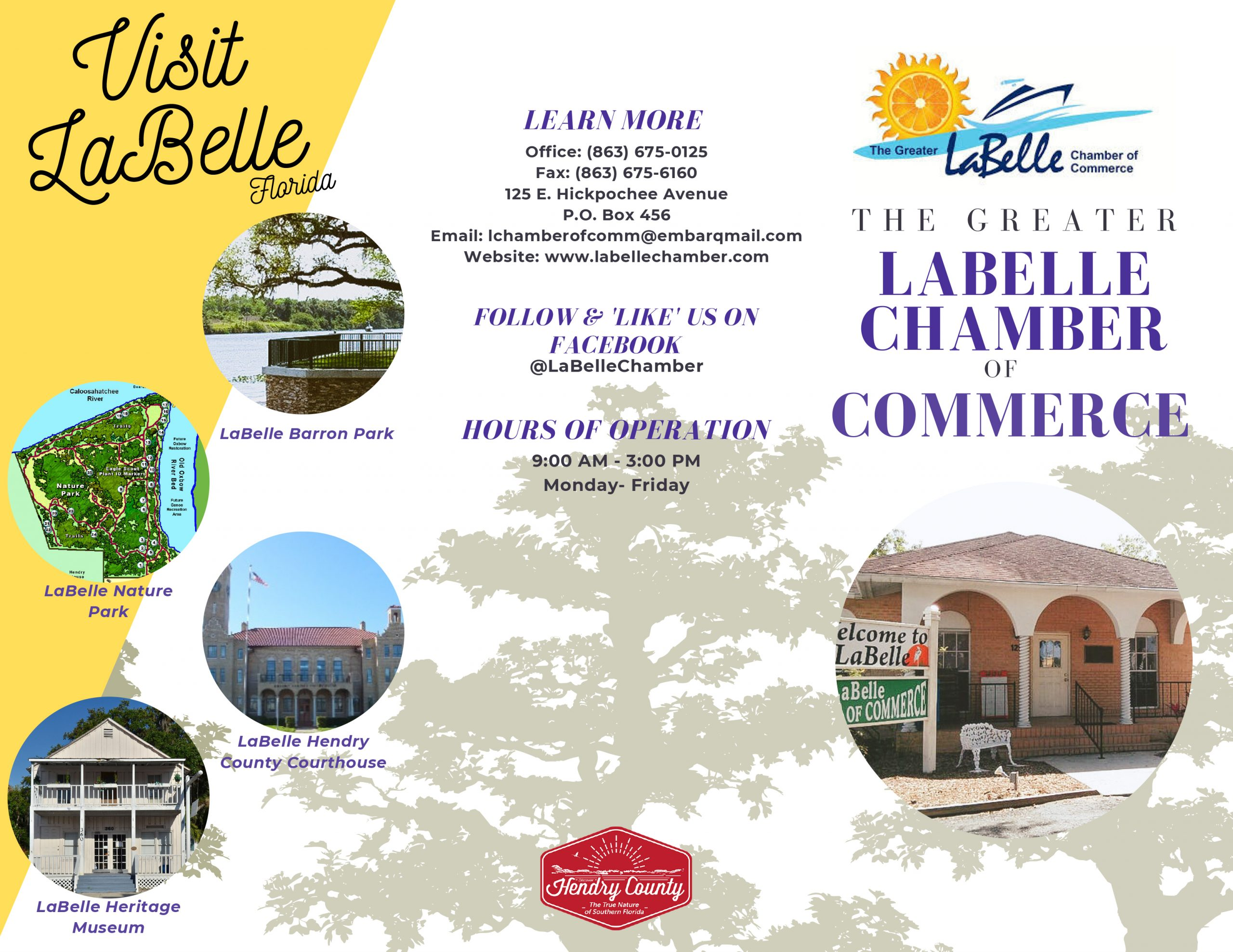 LaBelle Chamber Flyer page 1
